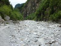 Die Massa im Kanton Wallis - trockengelegt durch die ALPIQ (© SGS)